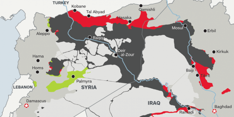 isil map 2015